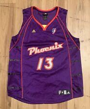 Adidas Phoenix Mercury Penny Taylor Autographed #13 Jersey Women's Medium Purple