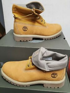 NEW TIMBERLAND HERITAGE ROLL TOP  BOOTS US 13