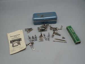 Vintage  Singer 66 Sewing Machine   Attachments  With POOR Manual