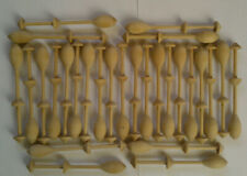 28 Continental Lace Making Wooden Bobbins