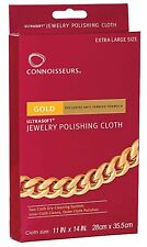 Connoisseurs UltraSoft Gold Jewelry Polishing Cloth
