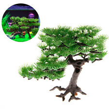 Artificial Plants Plastic Pine Aquarium Fish Tank Accessories Bonsai Decoration