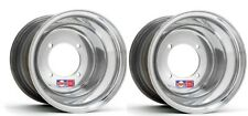 BLASTER REAR WHEEL DWT 4x100 10x8 YAMAHA RED LABEL RACE ROAD STREET POLISHED