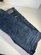 Buckle Salvage Jeans 33R Distressed Mens