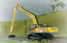 Komatsu Stobart PC340 360 Tracked Excavator Digger 1:76 HO/OO/00 Oxford Model