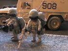 PLAYMOBIL CUSTOM US NAVY SEAL (AME. SNIPER)UNIF.DESERT (IRAK-2003) REF-0187 BIS