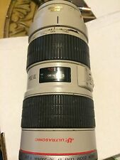Canon EF 70-200mm f/2.8 L IS USM . as picture is.