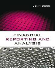 Financial Reporting and Analysis, Dunn, John, New, Paperback