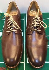 Johnston & Murphy Garner Oxfords Mahogany Brown Leather Shoes Men 11 M 20-1823