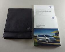 Manual de Instrucciones + Instrucciones Servicio VW Sharan II Stand 03/2016
