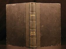 1876 1ed German Darwin Coral Reefs & Volcanic Islands Beagle Evolution Science