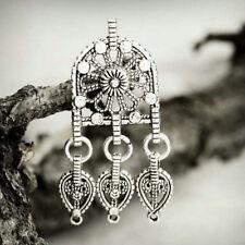 5pcs Tibetan Silver Charm Pendant Links Connector Jewelry 44x20x3.5mm