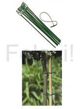 30 Pflanzenbinder (€0.07/St) Blumenbinder Pflanzenhalter Kabelbinder 17 cm (F10)