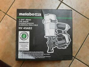Metabo HPT/Hitachi NV45AB2 Coil Roofing Nailer Nail Gun NEW in Box