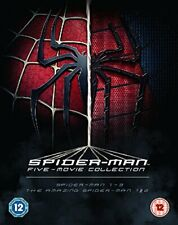 The Spider-Man Complete Five Film Collection [Blu-ray] [Region Free] [DVD]