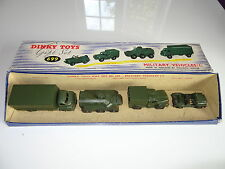 dinky MILITARY VEHICLES GIFTSET - DGS 699- boxed
