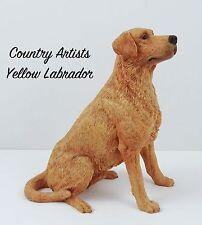Lovely Country Artists ©️1991 Golden Labrador Dog figure