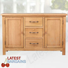 Wooden Buffet Sideboard 3 Drawers Cupboard Cabinet Timber Storage Kitchen NEW