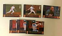 1997 Upper Deck The Big Show Baseball Cards Lot 6X Holo/Foil - Derek Jeter Bonds