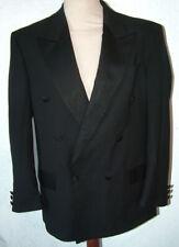 Mens Double Breatsed Black Dinner Tuxedo Suit S 38inch Chest