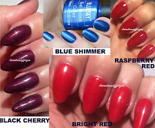 BLUESKY AUTUMN WINTER COLOUR COLLECTION NAIL GEL POLISH UV LED,ANY 2=FILE+WIPES