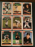 2006 Topps PITTSBURGH PIRATES Complete Team Set Series 1 & 2 MINT 25 Cards Look