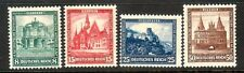 GERMANY Sc B38-41 NH ISSUE OF 1931 - CASTLES