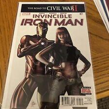 Invincible Iron Man #7 1st Print Riri Williams Disney + Ironheart 🔥 NM key