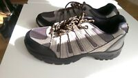 NEW CLARKS XL GREY HIKING SHOES TRAINERS UK SIZE 7