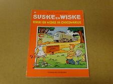 STRIP / SUSKE EN WISKE 154: RIKKI EN WISKE IN CHOCOWAKIJE | Herdruk 1991