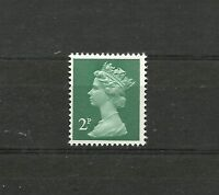 Great Britain Machin 2p FCP PVAD 2 Band  SG X849 MNH