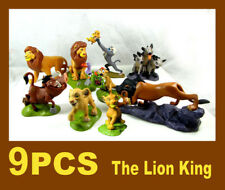 9 pcs Disney The Lion King Guard Action Figure Simba Play set toy Cake Topper