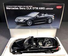 Kyosho 1:18 Mercedes Benz CLK DTM AMG Cabriolet with Roof - Black - BRAND NEW