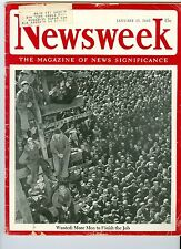 NEWSWEEK WAR  nazis china japan January 15 1945
