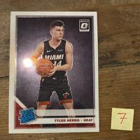 Tyler Hero 2019-20 Donruss Optic TYLER HERRO Rated  Rookie Miami Heat Mint PSA?
