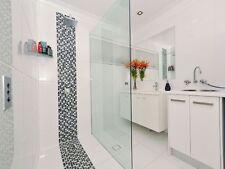 Frameless Shower Screen Fixed Panel 1000mm x 2000mm -10mm Toughened Glass