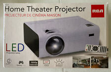 """RCA Home Theater LCD Projector RPJ119 1080p Compatible 2200 Lumens 150"""" screen"""