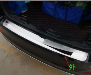 For Skoda Octavia Accessories Car Door Sill Cover Rear Bumper Protectors Sticker