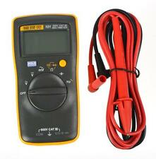 UK FLUKE 101 Portable Handheld Digital Meter Multimeter with Test Leads t