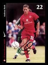 Andreas Bruck Autogrammkarte 1.FC Kaiserslautern 2000/01 Original Sign + A 63440