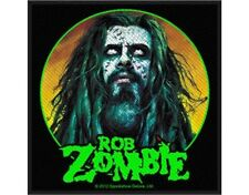 ROB ZOMBIE zombie face 2012 - WOVEN SEW ON PATCH official merchandise