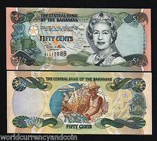 Brilliant Bahamas 1 Dollar 1968 Pick 27a 3 Papiergeld Welt