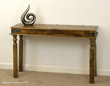 Indian Jali Console/Hall Table Solid Sheesham Rosewood by Mercers Furniture®