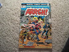 Arrgh! #1 Awesome Marvel Bronze Age Comic!