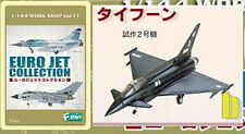 EURO JET 1:144 F-TOYS TYPHOON FIGHTER JET PROTOTYPE Fighter Plane Model FT_UR_1b
