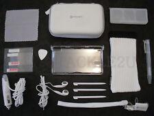 Nintendo DS Lite Console ACCESSORI SET-CARICATORE-CASE-Auricolari ecc. NUOVO di zecca