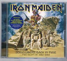 IRON MAIDEN SOMEWHERE BACK IN TIME THE BEST OF 1980-1089 CD COME NUOVO!!!