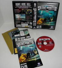 Silent Hunter III (PC, 2005)  dvd with key