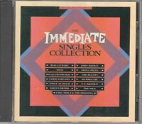 THE IMMEDIATE SINGLES COLLECTION various (CD, compilation) blues rock, pop rock