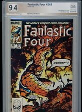 Fantastic Four #263! PGX (Not CGC SS) 9.4! Signed by Byrne! SEE PICS AND SCANS!